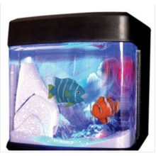 Ενυδρείο Με Τεχνητά Ψάρια Για Το Γραφείο Σας Με USB