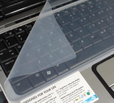 """Προστατευτικό Σιλικόνης Για Πληκτρολόγιο Φορητών Υπολογιστών 15.6"""" - Διάφανο"""