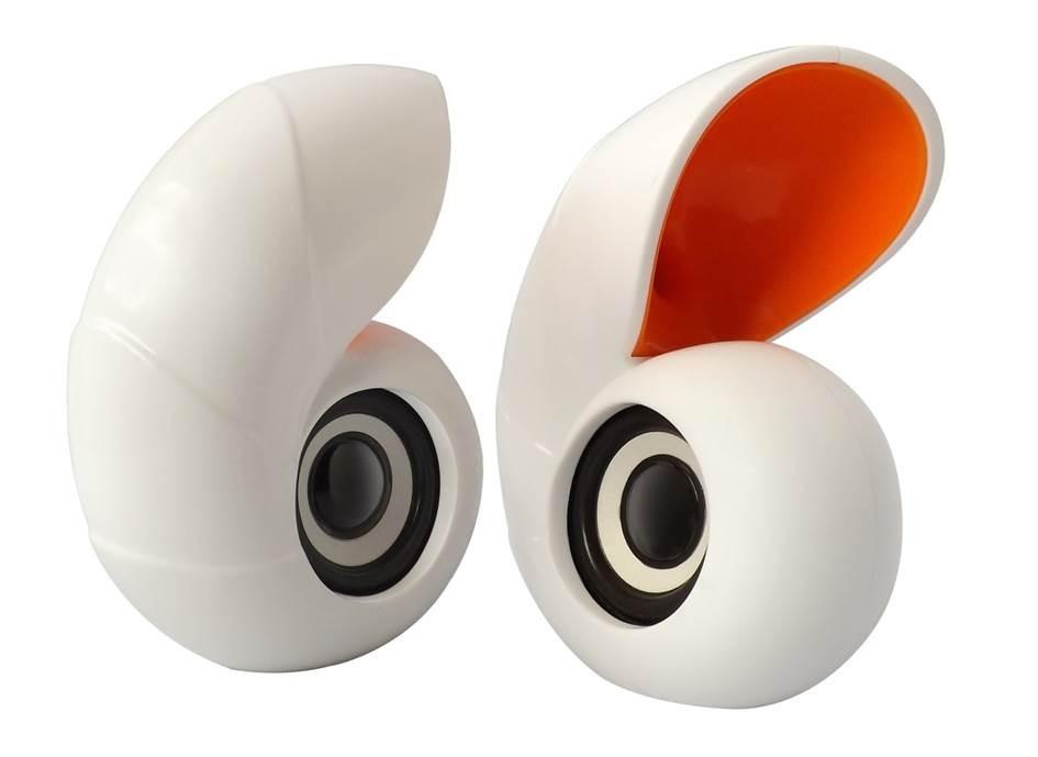 Ηχεία υπολογιστή Music M-10  USB 2.0 σε σχήμα κοχυλιού