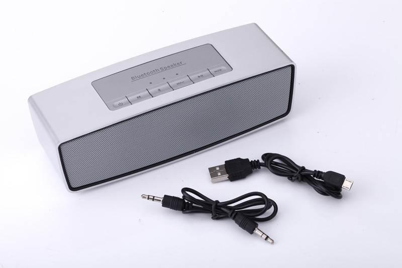 Φορητά ηχεία Neeka NK-BT51 Bluetooth speaker - Γκρί