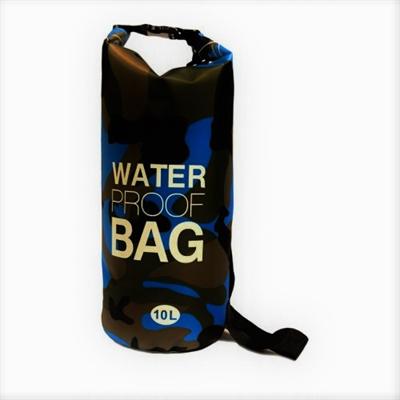 Αδιάβροχος αεροστεγής σάκος ΟΕΜ 5L Waterproof Roll-Up Dry Bag με λουρί ώμου που επιπλέει στο νερό - Μπλέ
