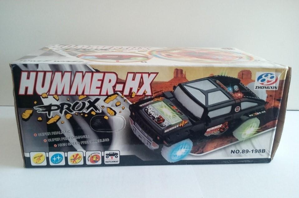 Αυτοκίνητο Hummer-HX Prox Κίτρινου Χρώματος