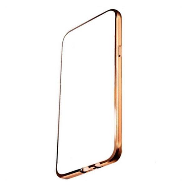 Θήκη IPhone 7 Plus Ref. 192712 TPU Μέταλλο Χρυσό
