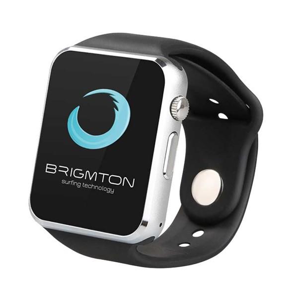 """Smartwatch BRIGMTON BWATCH-BT4N 1.54"""" 55 g Μαύρο"""