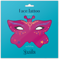 Snails Face Tattoos Queen Of Hearts