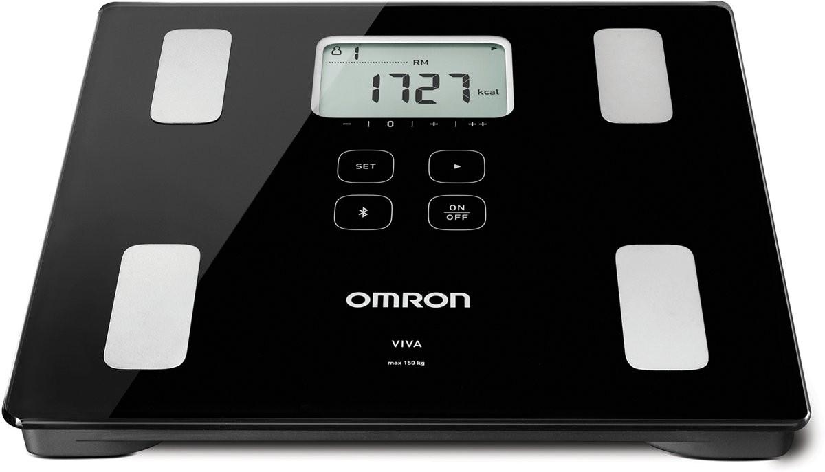 Omron Viva Ζυγαριά Λιπομετρητής (HBF-222T-EBK)