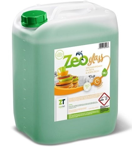 Zeo Glass - Υγρό απορρυπαντικό για πιάτα 6lt