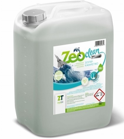 Zeo Clean Titanium - Εξειδικευμένο αλκαλικό καθαριστικό πολλαπλών χρήσεων 10lt