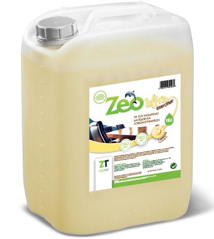 Zeo Ultra Bisquit - Γενικό καθαριστικό πολλαπλών επιφανειών με ευχάριστο άρωμα μπισκότου 5lt