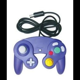 Χειριστήριο Για GameCube Με Δόνηση Μωβ Χρώματος