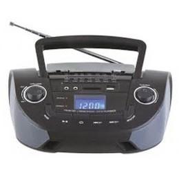 Φορητό Hχείο Mε Δυνατότητα Αναπαραγωγής Mp3 Μέσω USB Ή SD Κάρτας Και Ενσωματωμένο FM Δέκτη -Μαύρο Χρώμα