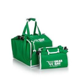 Τσάντα Επαναλαμβανόμενης Χρήσης για Ψώνια - Grab Bag SHOPPING BAG (Σετ 2  Τσάντες)