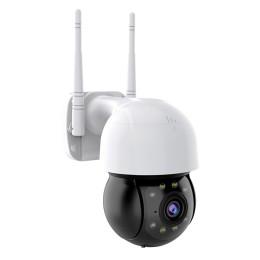 INNOTRONIK IP Δικτυακή κάμερα ICS-PT24 3MP WiFi 360 λευκή