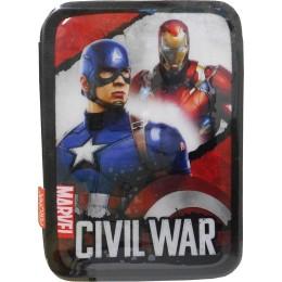Paxos Κασετίνα γεμάτη διπλή Σούπερ Ήρωες Marvel - Civil War 52669