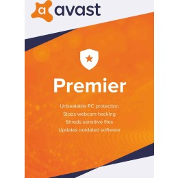 Avast! Premier 2019 (1 Licences , 1 Year) Key