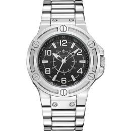 Ανδρικό Ρολόι Χρώματος Γκρι Με Μεταλλικό Μπρασελέ Timothy Stone M-012-ALSL