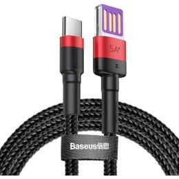 BASEUS Καλώδιο USB Σε Type-C CATKLF-P91, 40W, Double-Sided, 1m, Κόκκινο
