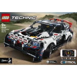 Lego Technic: App-Controlled Top Gear Rally Car 42109
