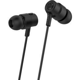 CELEBRAT Earphones v1 CLB-V1-BK με μικρόφωνο 10mm  3.5mm 1.2m μαύρα