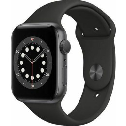Apple Watch Series 6 GPS 44mm Aluminum Case with Sport Band Space Gray EU (M00H3TY/A)