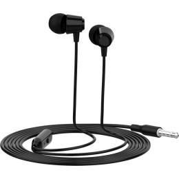 CELEBRAT Earphones G4 με μικρόφωνο 10mm 1.2m μαύρο
