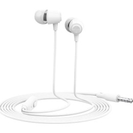 CELEBRAT Earphones G4 με μικρόφωνο, 10mm, 1.2m, λευκό