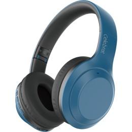 CELEBRAT A24 headphones wireless & wired BT 5.0 40mm ακουστικά μπλέ