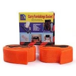 Σετ 2 Τεμαχίων Ιμάντες Μεταφοράς Μεγάλης Αντοχής Για Βαριά Ογκώδη Αντικείμενα Έπιπλα Ηλεκτρικές Συσκευές Στρώματα Carry Furnishing Easier TV
