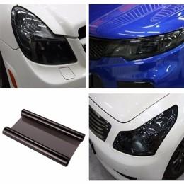 Αυτοκόλλητο φιλμ διακόσμησης φαναριών για το αυτοκίνητο 30x180cm-Μαύρο
