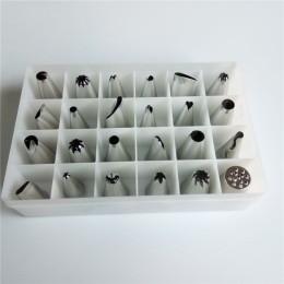Μεταλλικές μύτες διακόσμησης ζαχαροπλαστικής - Σετ 24 τεμαχίων