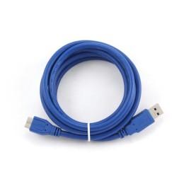 Καλώδιο USB 3.0 A σε Micro USB B iggual IGG312162 1,8 m