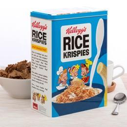 Μεταλλικό Κουτί Vintage Kellogg's Rice Krispies