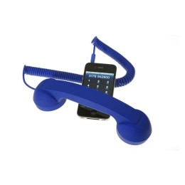Retro Cell Phone Handset Ακουστικό Native Union Moshi Moshi Σε Μπλε Χρώμα