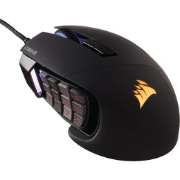 Corsair mouse Wired Optical Scimitar RPO RGB USB Black (CH-9304111-EU)