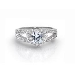 Δαχτυλίδι Solitaire με Κρύσταλλα Swarovski® Beloved 652083