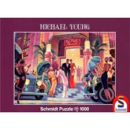 Michael Young: Partytime 1000 κομμάτια