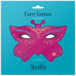 Snails Face Tattoos – Midnight Cat
