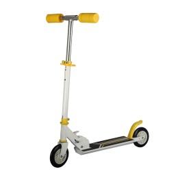 Αναδιπλούμενο Παιδικό Δίτροχο Πατίνι Scooter Χρώματος Κίτρινο GEM BN2016