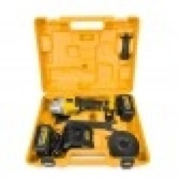 Γωνιακός Τροχός Μπαταρίας 18 V 125 Mm POWERMAT PM-CAG-18V