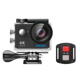 EKEN Action Cam H9R, Ultra HD 4K, 12MP, WiFi, Remote, Waterproof, Black
