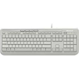 Microsoft Wired Keyboard 600 Πληκτρολόγιο Ελληνικό White