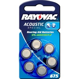 Rayovac Acoustic Special 675 6τμχ