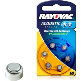 Rayovac Acoustic Special 10 6τμχ