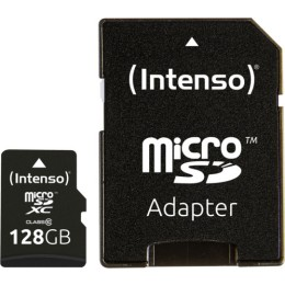 Intenso microSDXC 128GB Class 10with Adapter