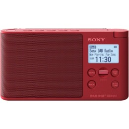 Sony XDR-S41D Red