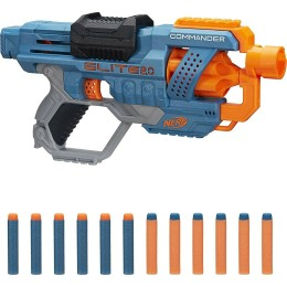 Hasbro Nerf Elite 2.0 Commander RD-6 with 12 Official Darts