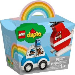 Lego Duplo: Fire Helicopter Police Car