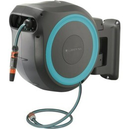 Gardena Wall Mounted Hose Box Rollup Turquoise M/L 25m 18620-20