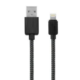 Καλώδιο USB Φόρτισης iPhone 5 iPhone 6 - Μαύρο Καλώδιο Φόρτισης Κορδόνι