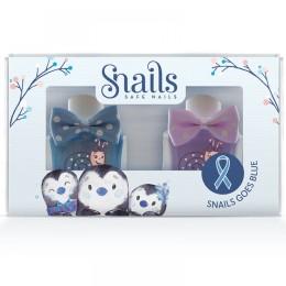 Snails Goes Blue  Penguin Παιδικά Μανό